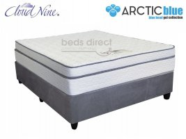 Cloud Nine - Chiroflex BT - Queen Size Mattress + FREE Universal Suede Base