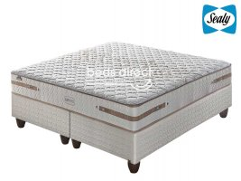 Sealy Posturepedic - Chamberry Gel Firm - King Size Bed Set [Extra Length]