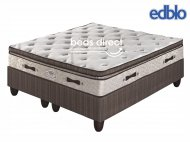 Edblo - Vanilla Plush Pamper Top - King Size Bed Set [Extra Length]