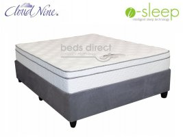 Cloud Nine - Epic Comfort - King Size Mattress + Universal Suede Base (Combi Deal)