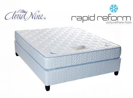 Cloud Nine - Mono-Flex - Double Bed Set [Extra Length]