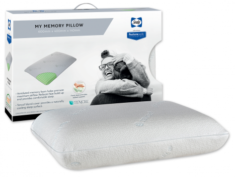 Sealy Posturepedic - My Memory Ventilated Pillow