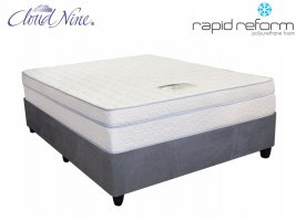Cloud Nine - Neuroflex BT - Double Mattress + FREE Universal Suede Base