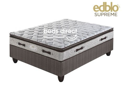 Edblo - Madrid/Harper Pillow Top - Double Bed Set (Jhb/Pta Only)