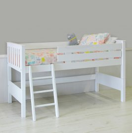 Trendi Low Loft Bed - 107cm