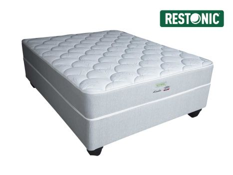 Restonic - Alaska Firm - Double Bed Set