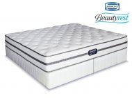 Simmons Beautyrest - Classic - Firm - King Size Bed Set [Extra Length]