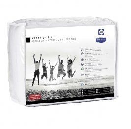 Sealy - Clean-Shield Waterproof Mattress Protector - Three Quarter