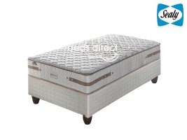 Sealy Posturepedic - Chamberry Gel Firm - Three Quarter Bed Set [Extra Length]