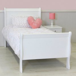 Sassy Sleigh Double Bed - 137cm (Jhb/Pta Only)