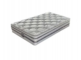 Slumberland - Springfield Plush - Three Quarter Mattress [Extra Length]