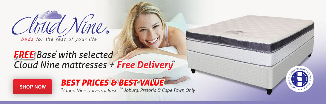Free Base with Cloud Nine Mattresses