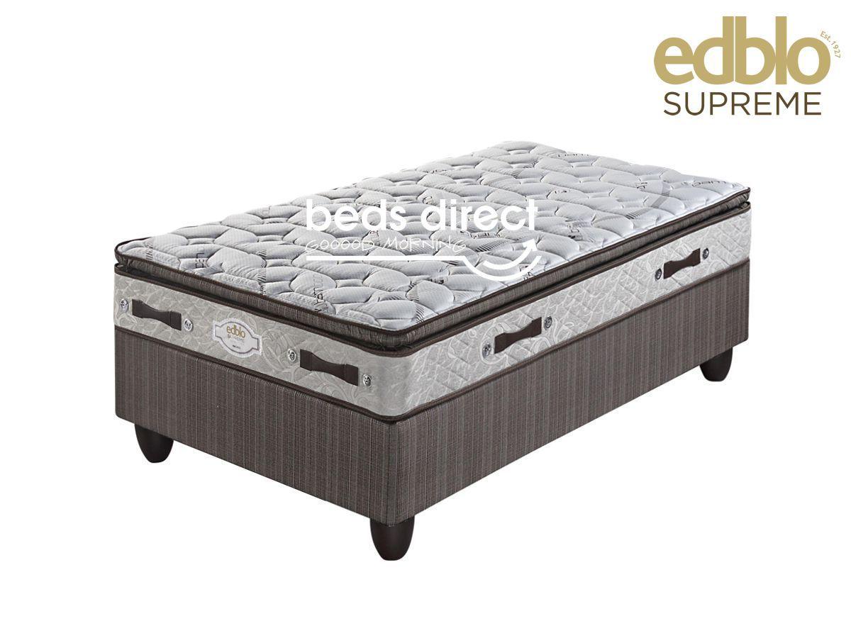 Edblo Madrid Pillow Top Single Bed Set