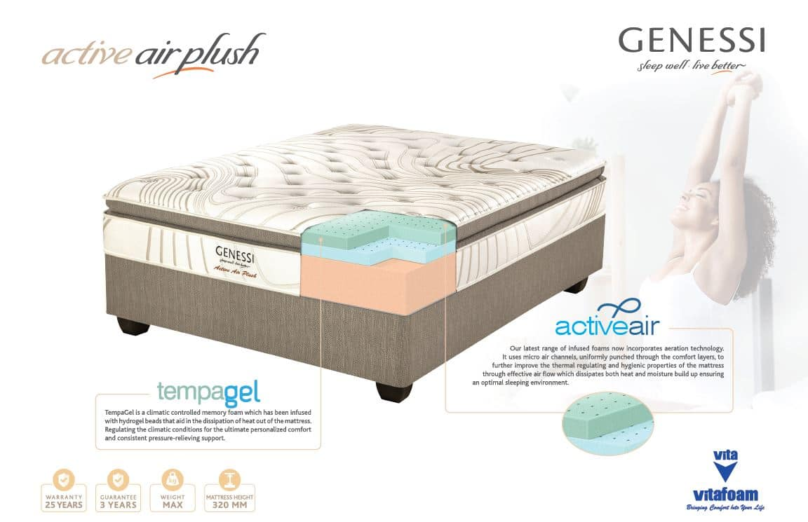 Genessi Active Air Plush