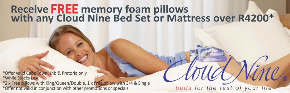 Cloud Nine - Free Pillow Promotion
