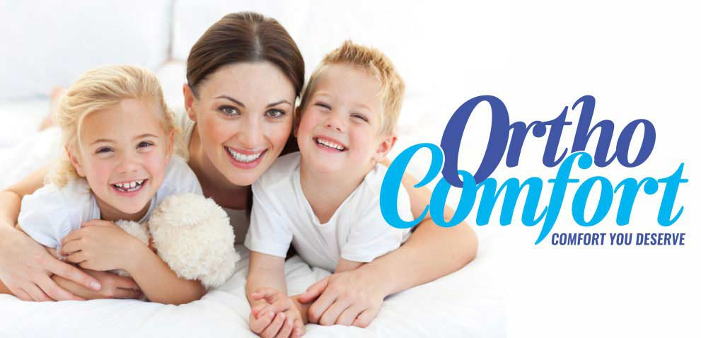 Ortho-Comfort bed sets and mattresses