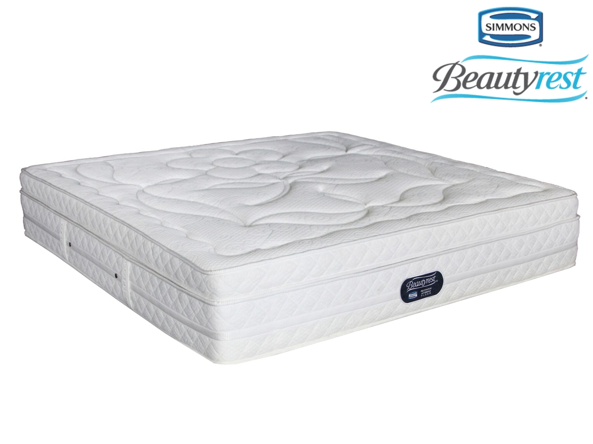 Simmons beautyrest hybrid plush crescendo king size for Where to buy mattresses